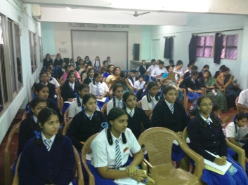 At New Cambridge School Vijay Nagar, Bangalore