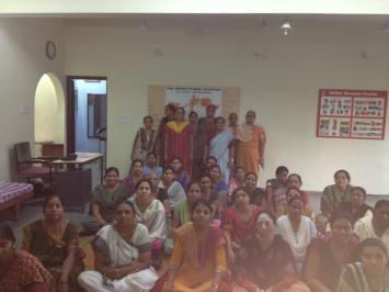 Session for SEVA international, Ahmedabad